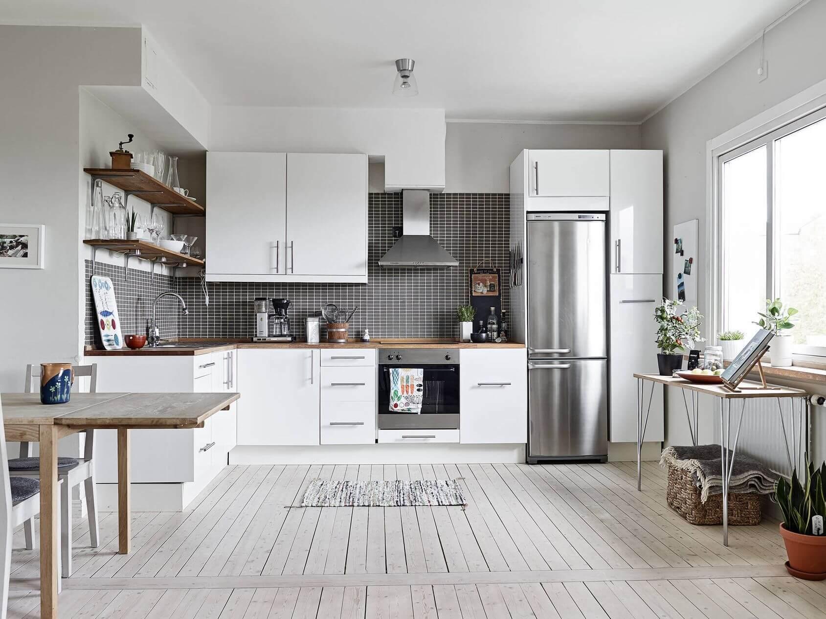 Встроенный или отдельно стоящий холодильник? Что выбрать