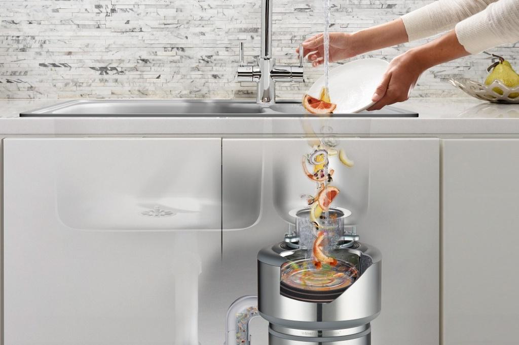 Все о кухонном измельчителе пищевых отходов